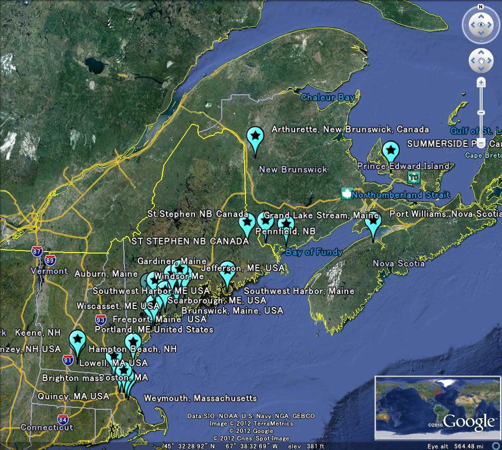 The Latest Worldwide Meteormeteorite News Meteor Breaking News Brunswick Usa Map
