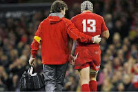 Jonathan Davies, Foxy, Wales, South Africa, Defeat, rugby, Millennium Stadium, Cardiff, International