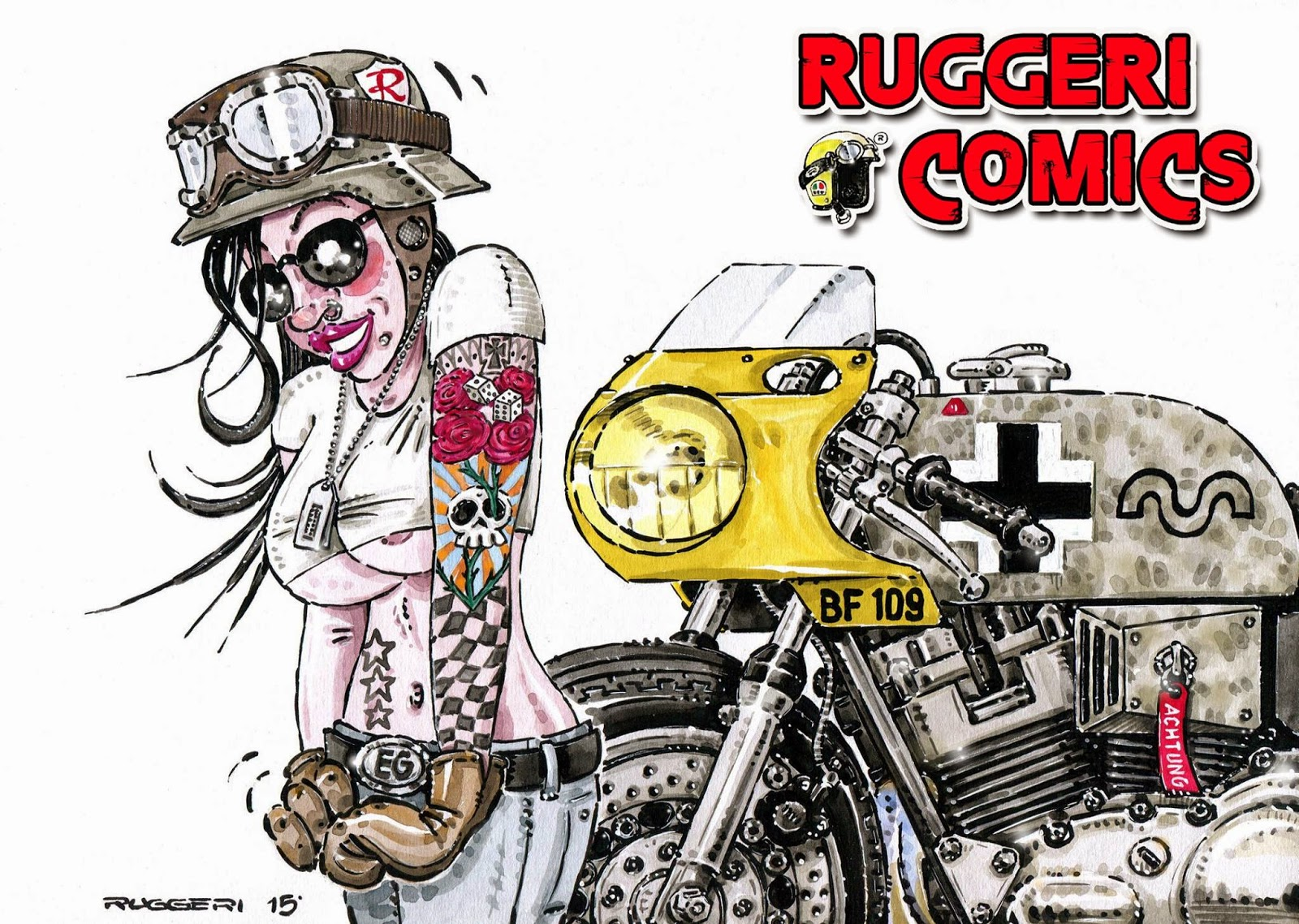 Racing Caf U00e8  Ruggeri U0026 39 S Comics  43