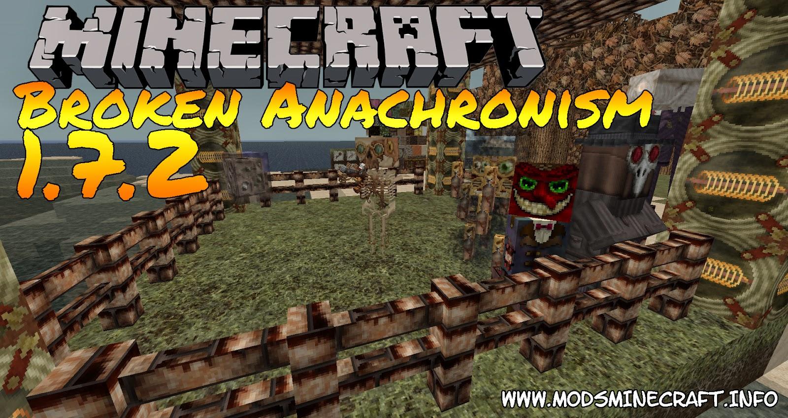 Broken Anachronism Texture Pack para Minecraft 1.7.2, Broken Anachronism  1.7.2, Broken Anachronism texture, texture pack minecraft, minecraft texturas, texturas para minecraft, minecraft cómo instalar texturas, minecraft 1.7.2, texturas para minecraft 1.7.2