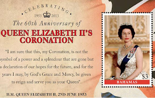 The Bahamas - 60th Anniversary of The Coronation of HM Queen Elizabeth II