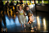 Children dancing at Kalani and Stephanie's wedding