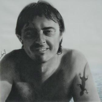 Pedro Carboncillo 2009.45x45cm