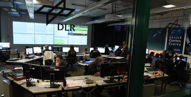 DLR Lander Control Center (LCC). Credit: DLR