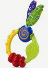 Image: Nuby Wacky Teething Ring