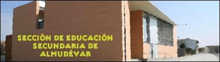 SECCIÓN DE EDUCACIÓN SECUNDARIA DE ALMUDÉVAR