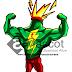 Jasa Desain Maskot   Ultimate Power Drink Mascot
