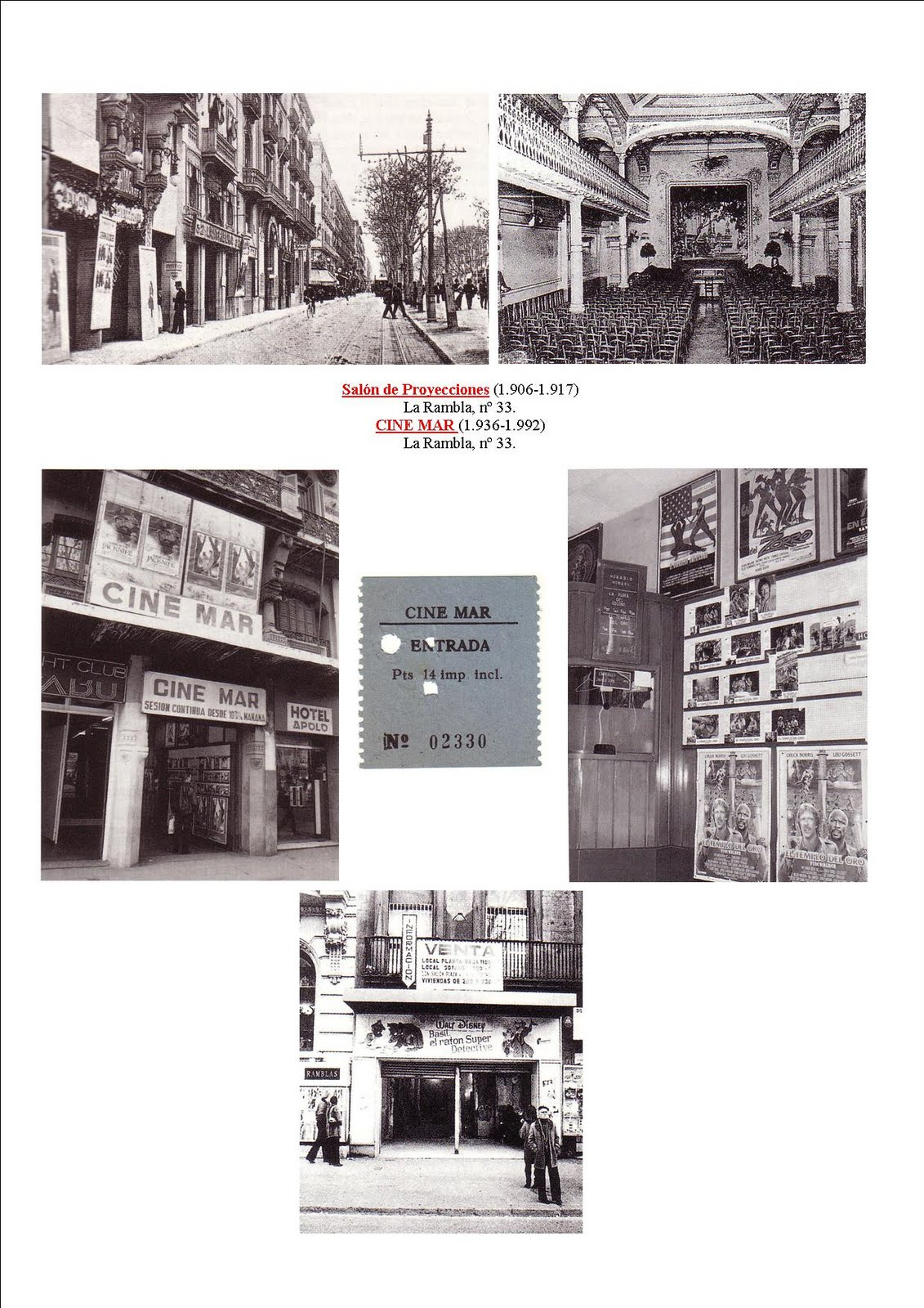 Cines Barcelona Cine Mar