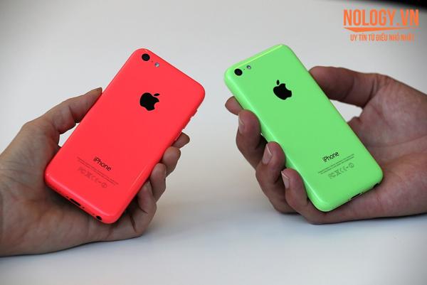 Màu sắc trẻ trung với iphone 5c lock