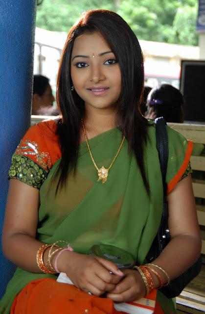 swetha basu half saree images