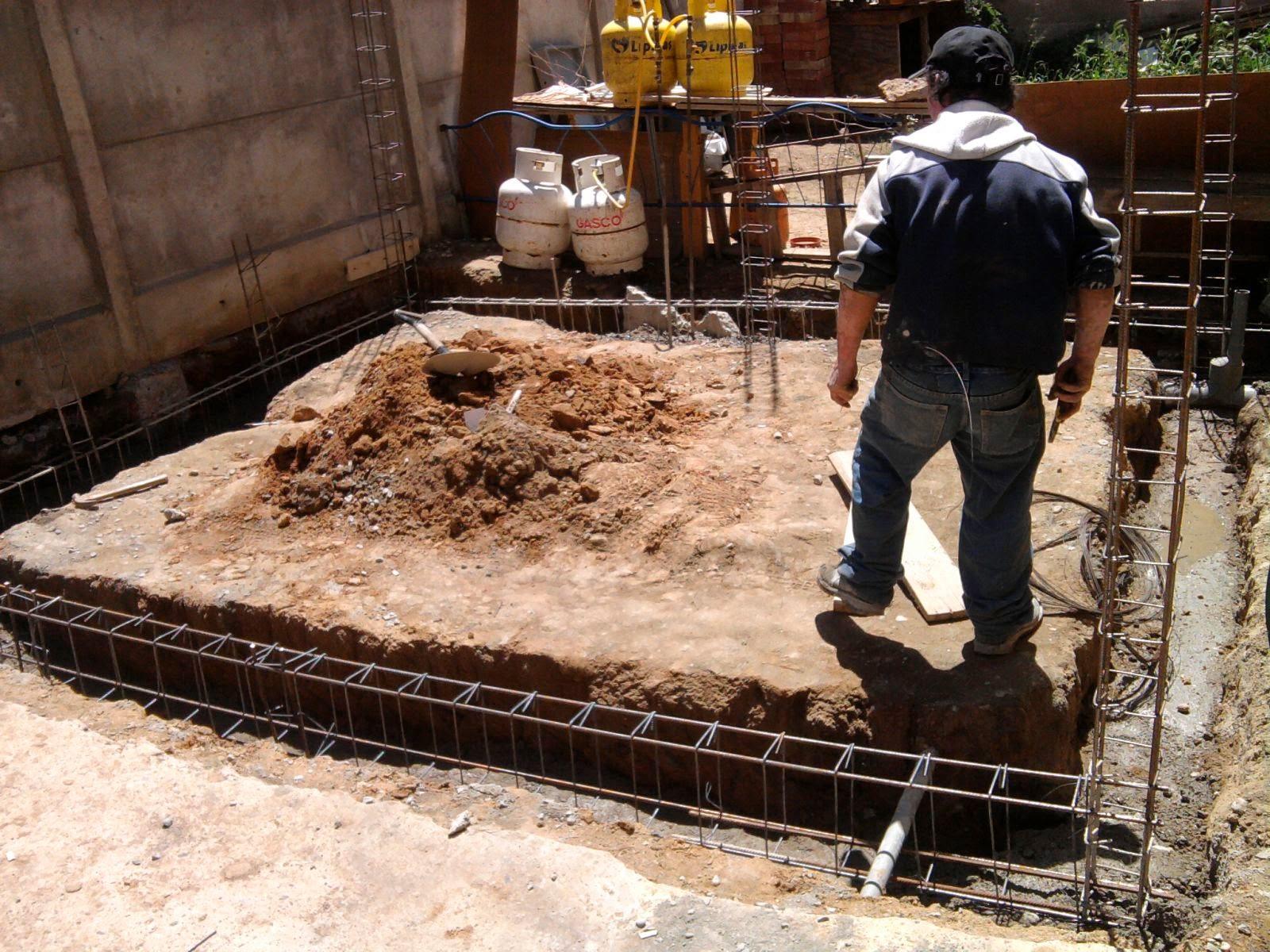 El maestro de obras xavier valderas construir los cimientos - Medidas de ladrillos comunes ...