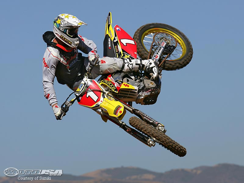 Freestyle motocross whip
