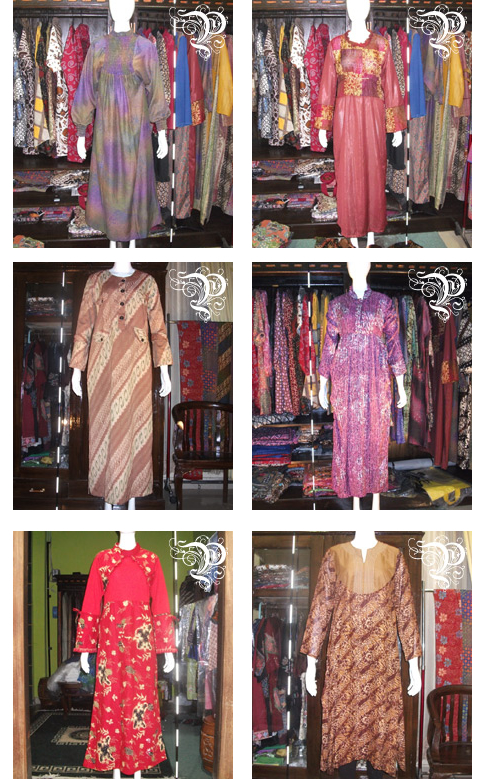 Gaun Batik Muslimah International Center