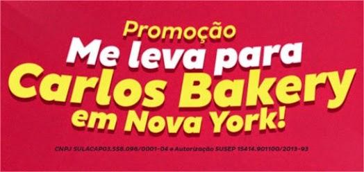 Promoção Me leva pra Carlos Bakery em Nova York