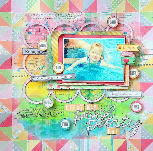 Missy Whidden Chickaniddy Crafts Summer Layout
