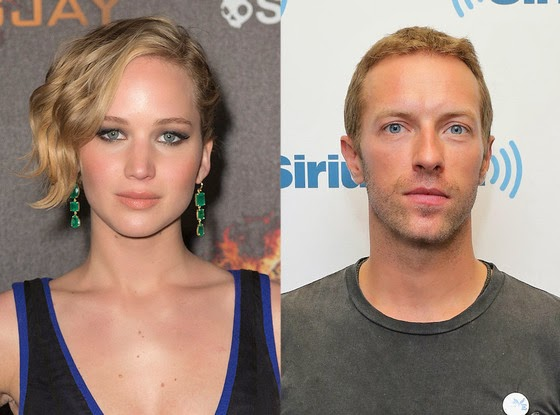 Jennifer Lawrence with Chris Martin Love End