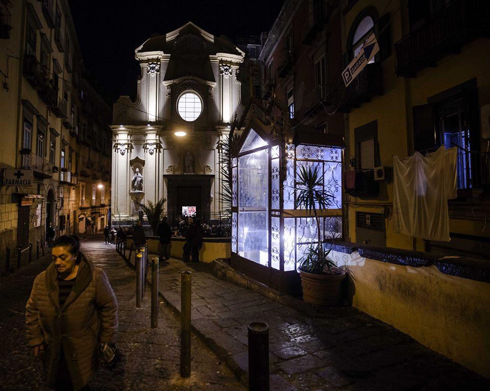 Ripristino fermata ANM- E6 in p.tta San Carlo alle Mortelle