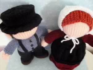 my crocheted amish doll - Dolls & Doll Clothes - Crochetville