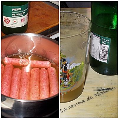 La cocina de mondie bolas de salchicha en salsa de sidra for Cocinar huevos 7 days to die