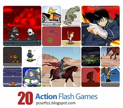 Download Collection of Action Flash Games 20 Games Free Download