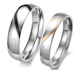 Men's Band Ring in Stainless Steel