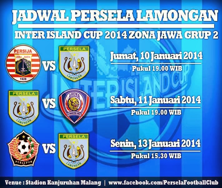 Persija vs Persela Inter Island Cup 2014