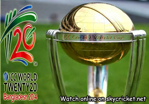 Watch ICC World Twenty20 on skycricket.net