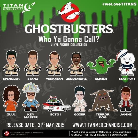 "Ghostbusters Titans ""Who Ya Gonna Call?"" Mini Figure Blind Box Series"