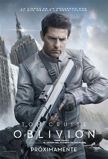 Tom Cruise en Oblivion, Film de Ciencia Ficción