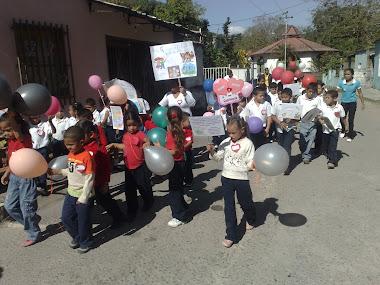 Desfile por la comunidad