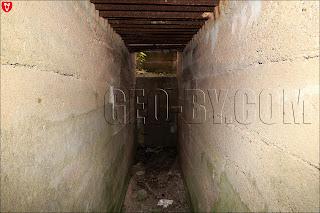 Внутри десятого немецкого бункера