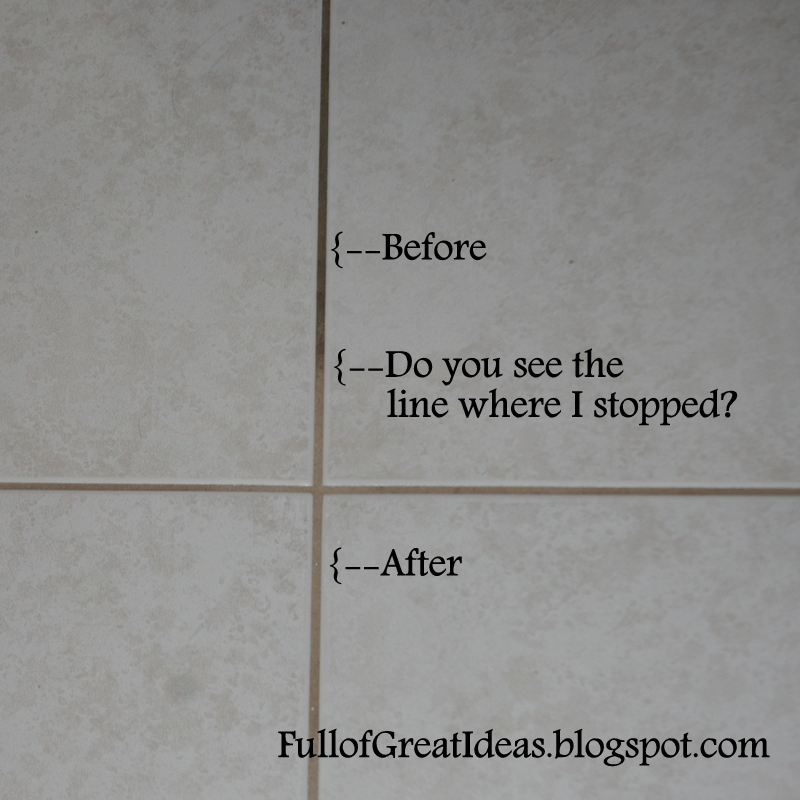 Bathroom Grout Cleaner full of great ideas: out damned spot! out i say! best way to clean
