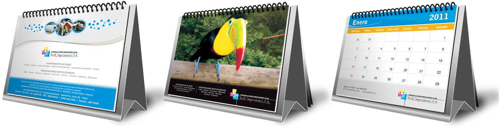 Art f4 dise o publicitario calendario de escritorio - Disenos de calendarios ...