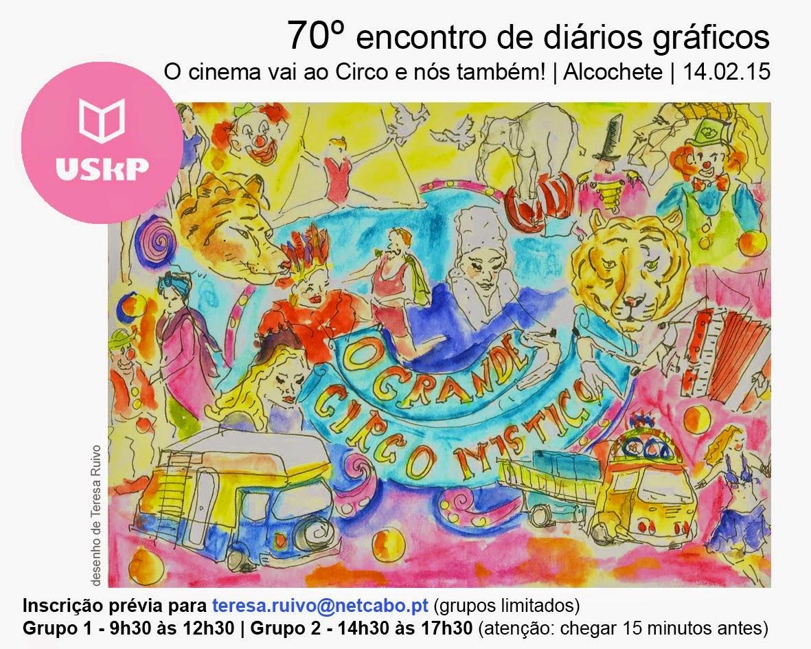 70º ENCONTRO USkP - O CINEMA VAI AO CIRCO E NÓS TAMBÉM!