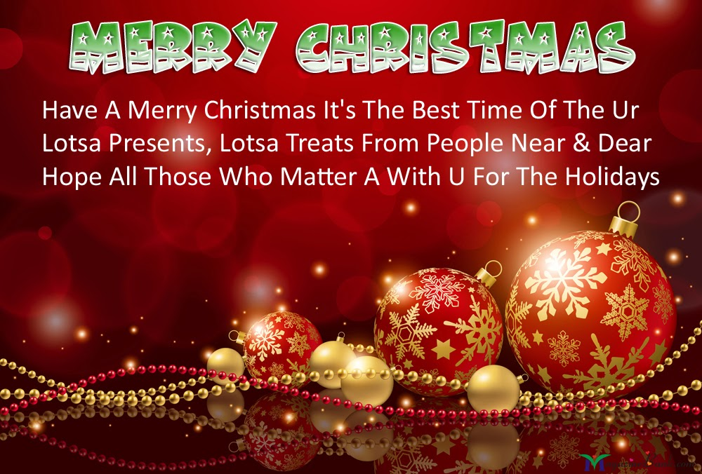 Merry Christmas Holiday Greetings Images And HD Wallpapers 1080P