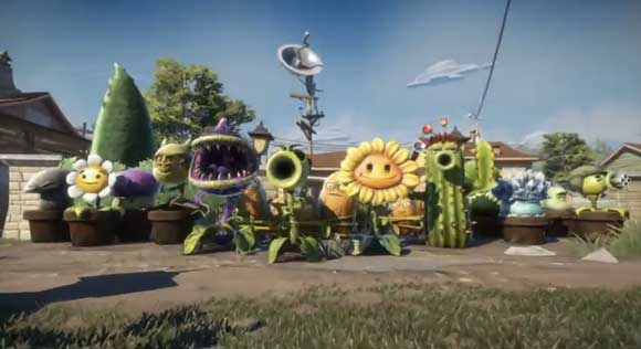Plants Vs. Zombies: Garden Warfare Trailer