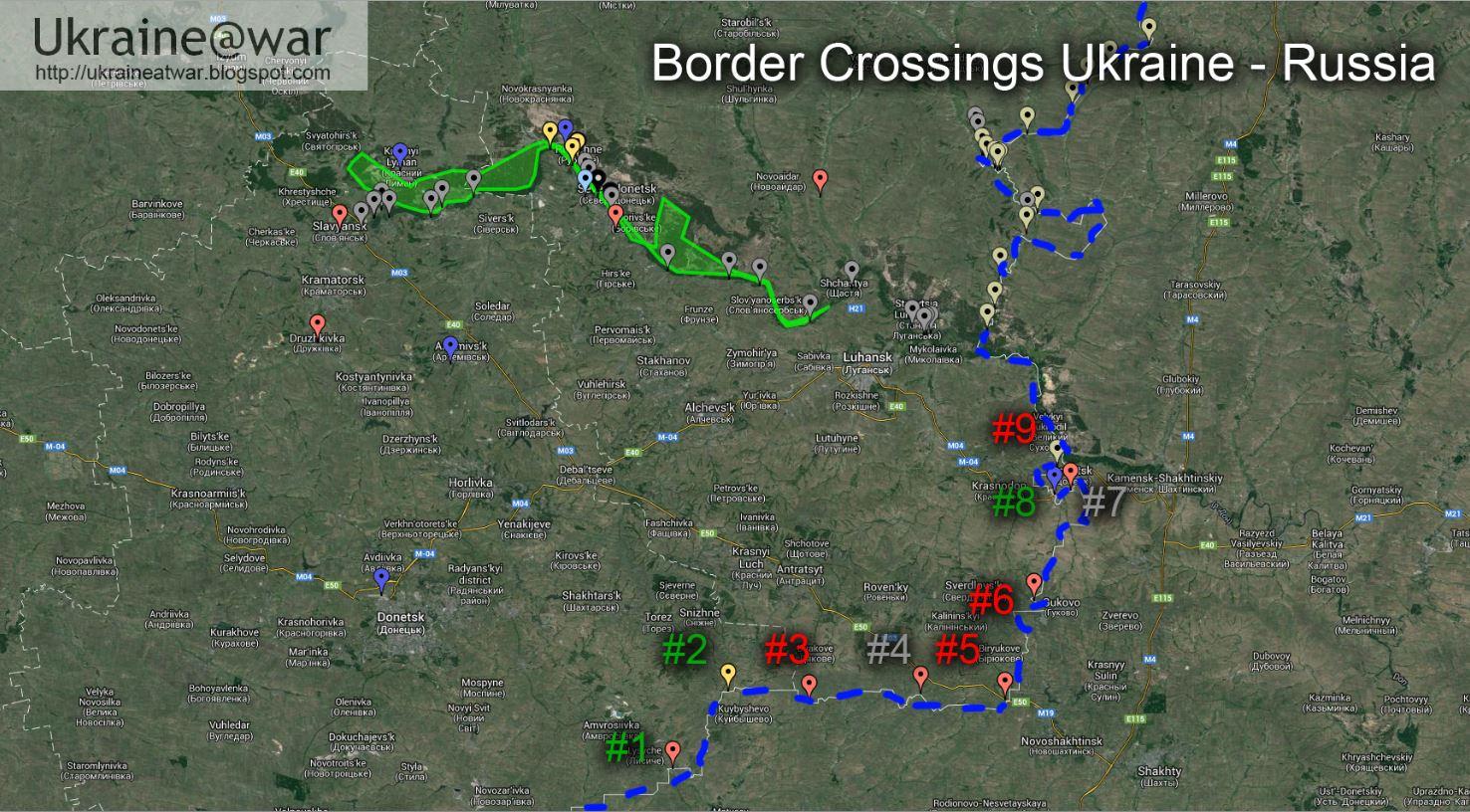 На Луганщине в приграничном селе идет ожесточенный бой, - СМИ - Цензор.НЕТ 7276