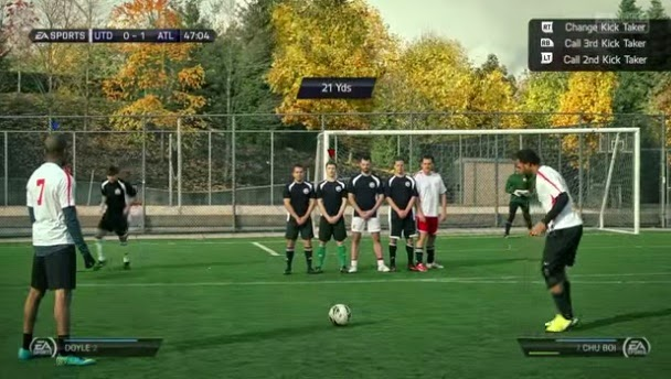 Future FIFA (Real-Life Video Game)