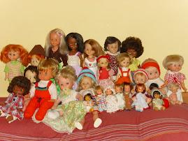 Fondo de armario para muñecas y más...