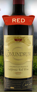 Conundrum Red Wine bottle shot
