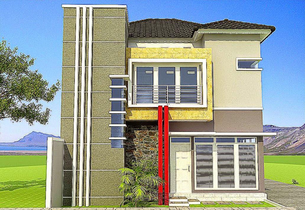 30 Inspirasi Desain Rumah Minimalis Fasad Modern   DesainIC