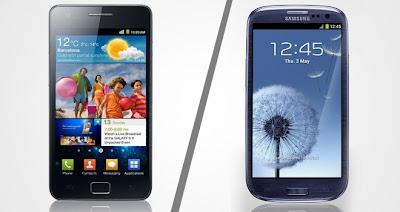 Samsung Galaxy S2 Vs Samsung Galaxy S3