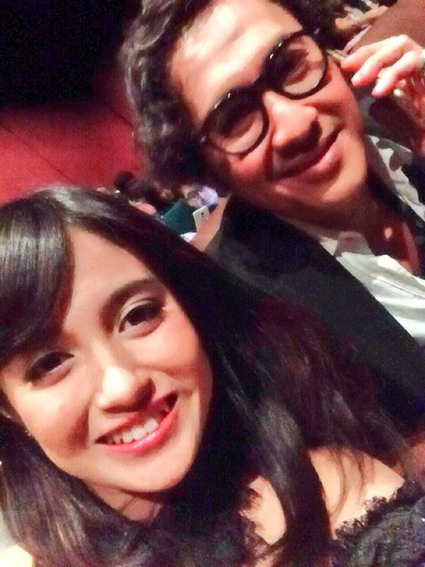 Foto Nabilah JKT48 Dengan Ayahnya Di Film Wewe