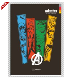 Buy Adister Premium 180 page A4 Notebook Pack of 5 at Rs.159 : Buy To Earn
