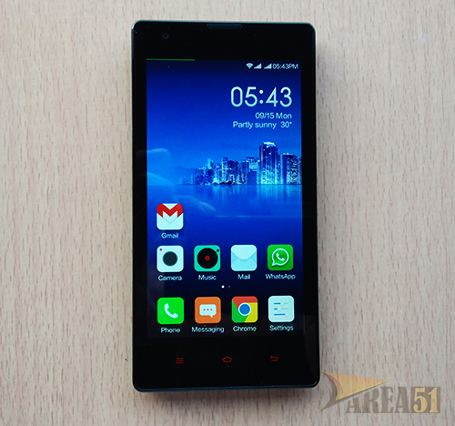 Xiaomi Redmi 1S review unboxing