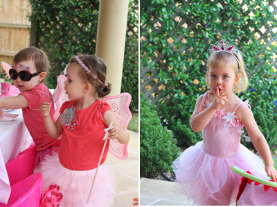 Pink Fairy Princess Birthday Party