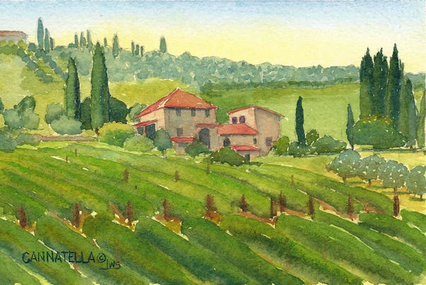 Tiny Tidbits Tuscan Farmhouse