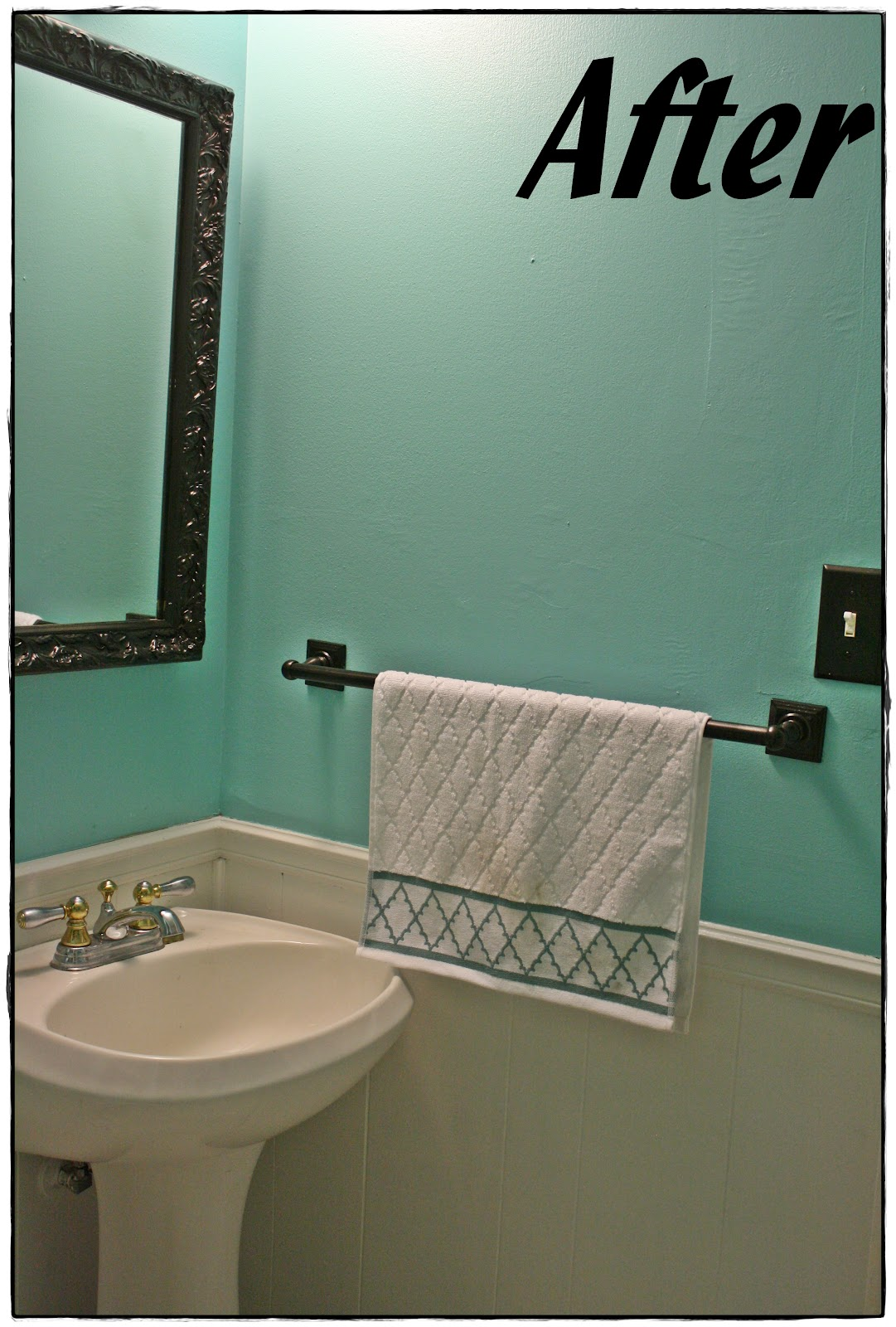 Painting Bathroom Tiles Better Homes And Gardens it's my life: bathroom redo