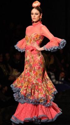 vestidos de sevillana 2013