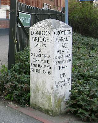 An old signpost in Beckenham